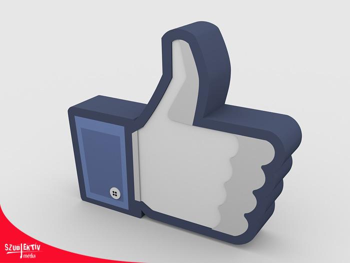 Facebook posztok 3D-ben