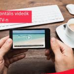 Horizontális videók az IGTV-n