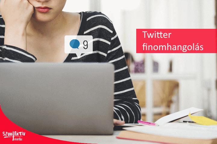 Egyszerűbb követés a Twitter-en