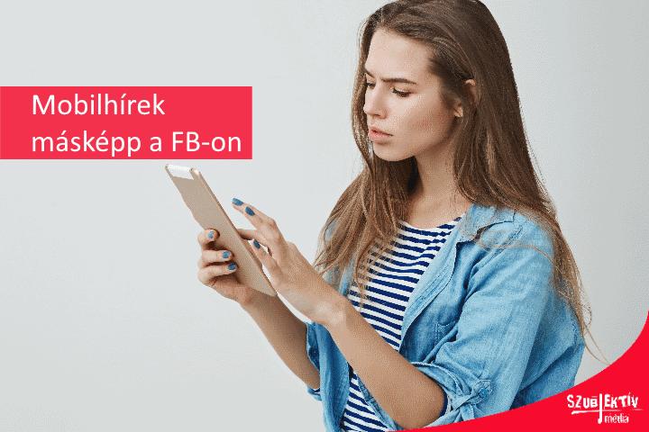 A Facebook új arca mobilon