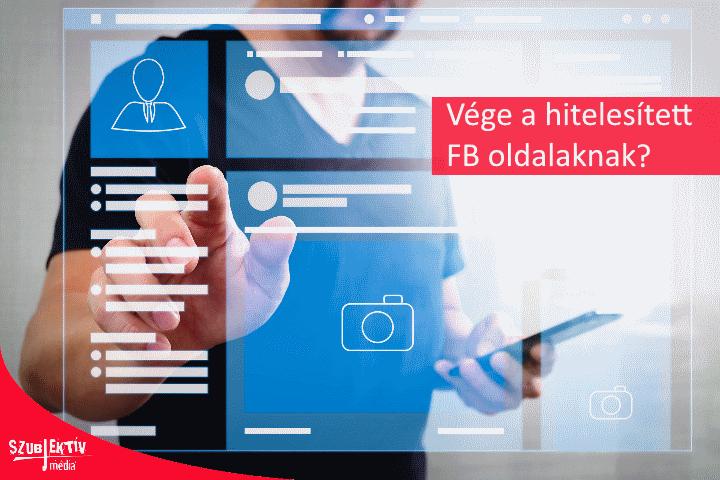 Nem lesz ellenőrzött Facebook profil?