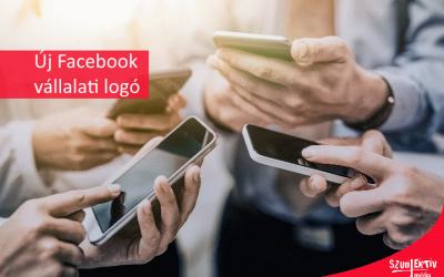 Új céges logó a Facebook-on