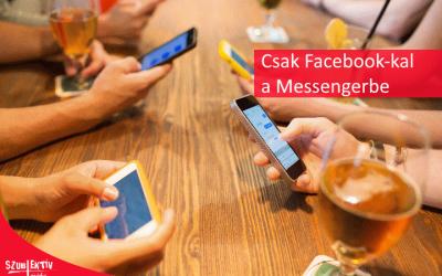 Facebook és Messenger együtt