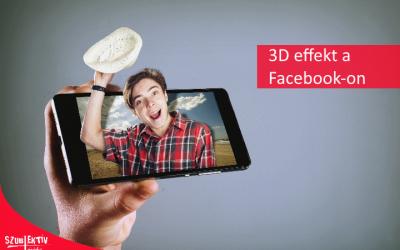 3D fotók a Facebook-on
