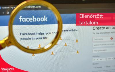 Tartalomfelügyelet a Facebook-on