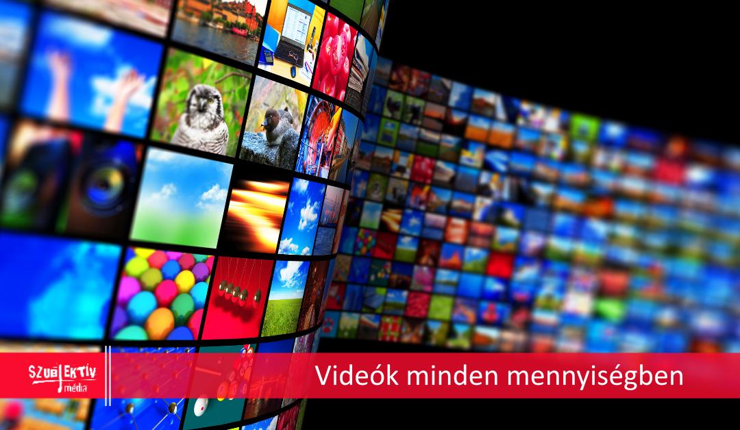 Trendi videótartalmak