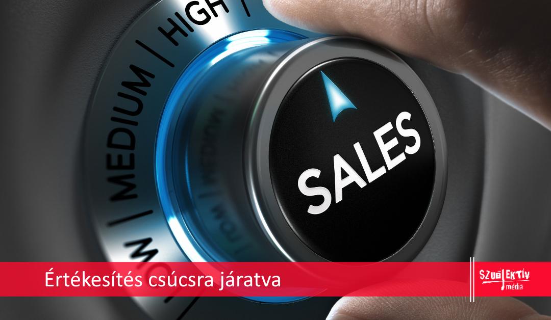 Növeld az online értékesítésed!
