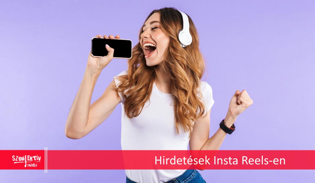 Instagram Reels hirdetések