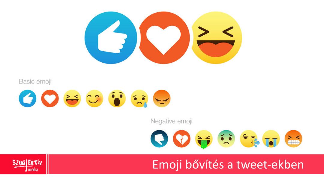 Új emoji-k a Twitter-en
