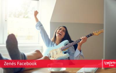 …hogy muzsikál a Facebook?