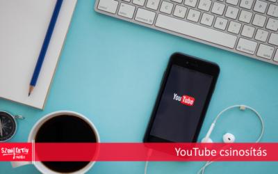 YouTube újdonságok