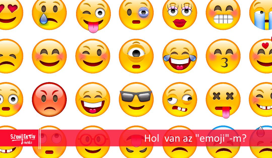 Okos emoji keresés